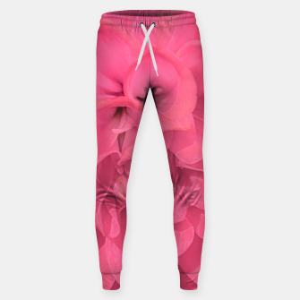 Thumbnail image of Beauty Pink Rose Detail Photo Sweatpants, Live Heroes