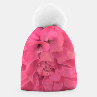 Thumbnail image of Beauty Pink Rose Detail Photo Beanie, Live Heroes