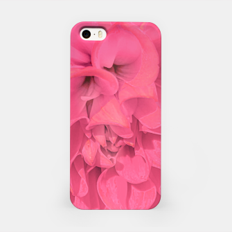Miniaturka Beauty Pink Rose Detail Photo iPhone Case, Live Heroes