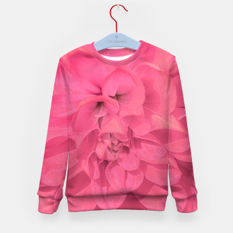 Thumbnail image of Beauty Pink Rose Detail Photo Kid's sweater, Live Heroes