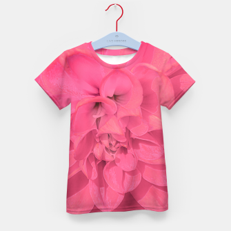 Thumbnail image of Beauty Pink Rose Detail Photo Kid's t-shirt, Live Heroes