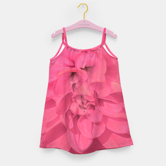Thumbnail image of Beauty Pink Rose Detail Photo Girl's dress, Live Heroes