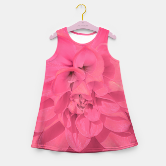 Thumbnail image of Beauty Pink Rose Detail Photo Girl's summer dress, Live Heroes