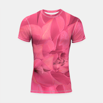 Thumbnail image of Beauty Pink Rose Detail Photo Shortsleeve rashguard, Live Heroes