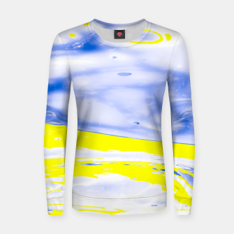 Thumbnail image of The Sea reflection Women sweater, Live Heroes
