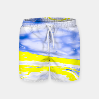 Thumbnail image of The Sea reflection Swim Shorts, Live Heroes