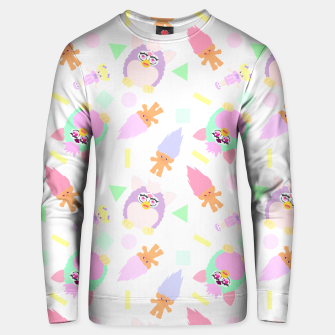 Thumbnail image of 90s girl toys pattern Sudadera unisex, Live Heroes