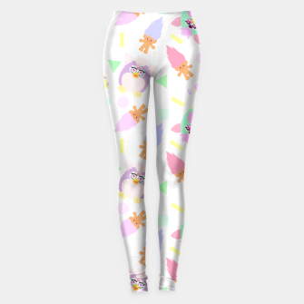 Thumbnail image of 90s girl toys pattern Leggings, Live Heroes