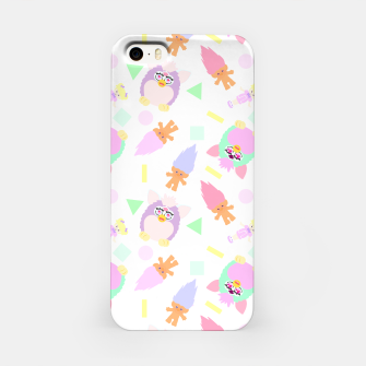 Thumbnail image of 90s girl toys pattern Carcasa por Iphone, Live Heroes