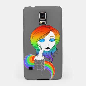 Miniaturka Blue Eyes and Rainbow Hair Samsung Case, Live Heroes