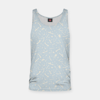 Thumbnail image of Birds bones reading  Tank Top, Live Heroes