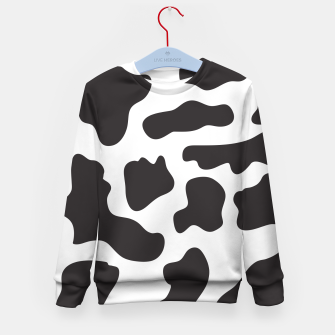 Thumbnail image of Cow Print Kid's sweater, Live Heroes