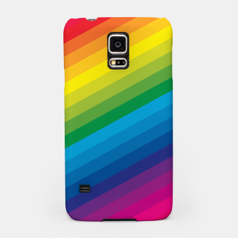 Thumbnail image of Rainbow Love Samsung Case, Live Heroes