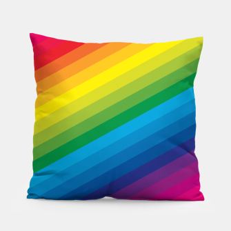 Thumbnail image of Rainbow Love Pillow, Live Heroes
