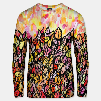 Thumbnail image of Autumn Foliage Unisex sweater, Live Heroes
