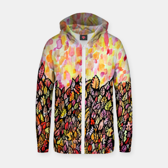 Thumbnail image of Autumn Foliage Zip up hoodie, Live Heroes