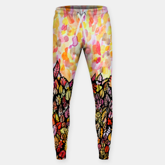 Thumbnail image of Autumn Foliage Sweatpants, Live Heroes