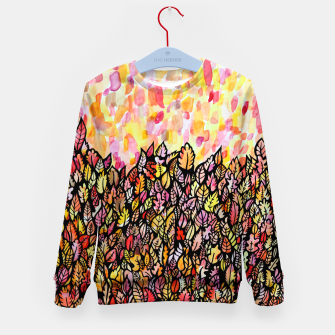 Thumbnail image of Autumn Foliage Kid's sweater, Live Heroes