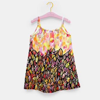 Miniature de image de Autumn Foliage Girl's dress, Live Heroes