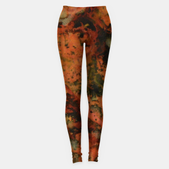 Thumbnail image of Painting in 4 Pieces Leggings, Live Heroes