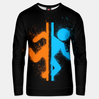 Thumbnail image of portal Unisex sweater, Live Heroes