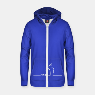 Thumbnail image of La Linea 2020 Zip up hoodie, Live Heroes