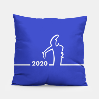 Thumbnail image of La Linea 2020 Pillow, Live Heroes