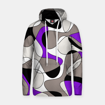 Miniatur Abstract pattern - purple and gray. Hoodie, Live Heroes