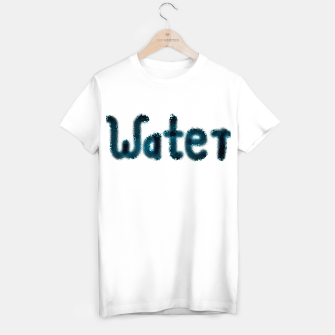 Thumbnail image of Water Lettering T-Shirt regulär, Live Heroes