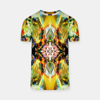 Thumbnail image of Abstraction in hot colors T-shirt, Live Heroes