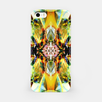 Thumbnail image of Abstraction in hot colors iPhone Case, Live Heroes