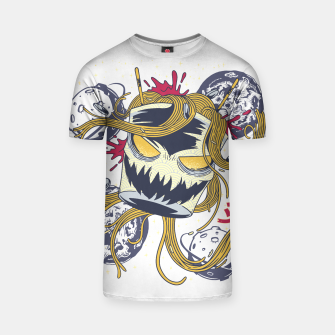 Thumbnail image of Space Ramen Monster Camiseta, Live Heroes