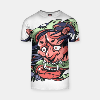 Thumbnail image of Snake Demon Camiseta, Live Heroes