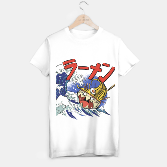 Thumbnail image of Ramen Surf Camiseta Regular, Live Heroes