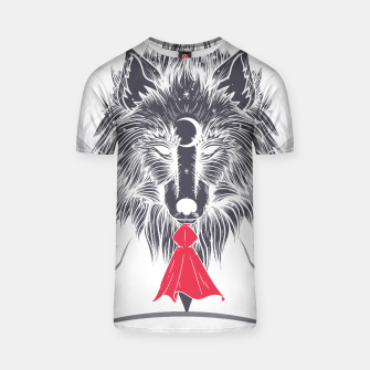 Thumbnail image of Red Hood Night Camiseta, Live Heroes
