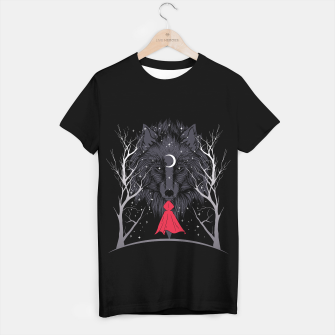 Miniaturka Red Hood Night Camiseta Regular, Live Heroes