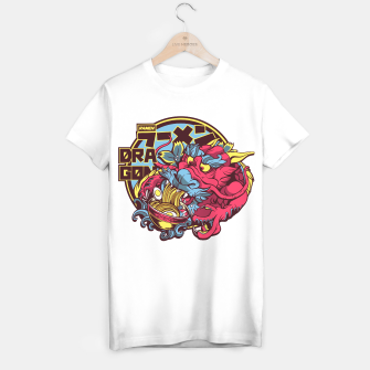 Thumbnail image of Ramen Dragon Camiseta Regular, Live Heroes