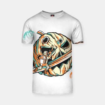 Thumbnail image of Pumpkin Planet Camiseta, Live Heroes