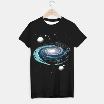 Thumbnail image of Space Nebula Camiseta Regular, Live Heroes