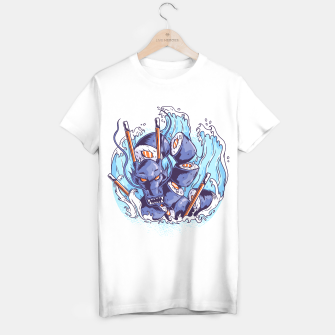 Miniaturka Sushi Blue Dragon Camiseta Regular, Live Heroes