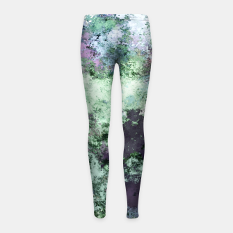 Thumbnail image of Backtrack Girl's leggings, Live Heroes