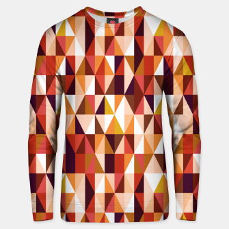 Thumbnail image of Triangles pattern seamless Bluza unisex, Live Heroes