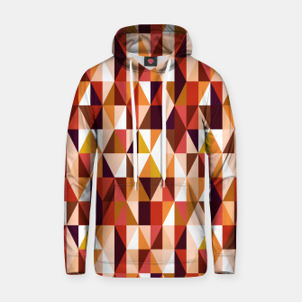 Thumbnail image of Triangles pattern seamless Bluza z kapturem, Live Heroes