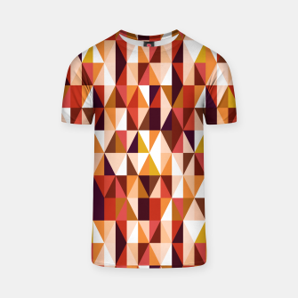 Thumbnail image of Triangles pattern seamless Koszulka, Live Heroes