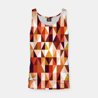 Thumbnail image of Triangles pattern seamless Tank Top, Live Heroes