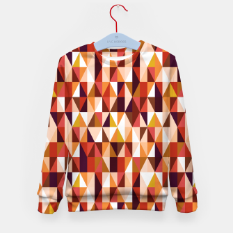 Thumbnail image of Triangles pattern seamless Bluza dziecięca, Live Heroes