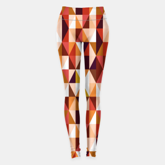 Thumbnail image of Triangles pattern seamless Legginsy, Live Heroes