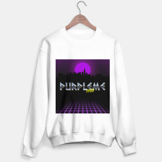 Thumbnail image of PURPLEME X 1980 STYLE Sweater regular, Live Heroes