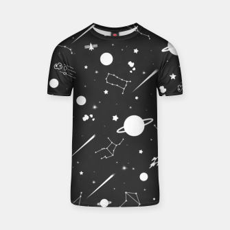 Thumbnail image of Aesthetic space T-shirt, Live Heroes