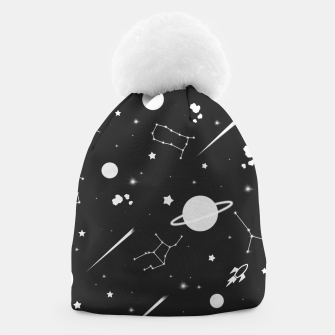 Thumbnail image of Aesthetic space Beanie, Live Heroes